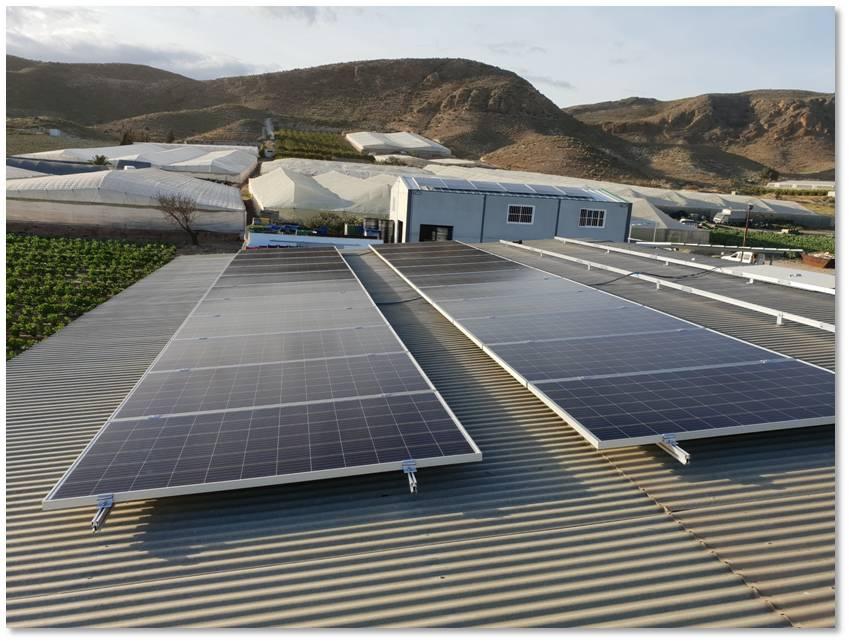 Placas solares fotovoltaicas Lorca