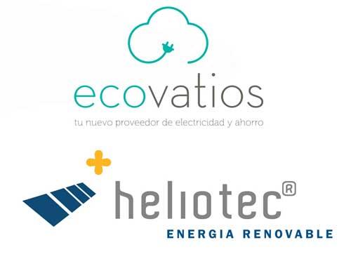 Heliotec y Ecovatios firman un convenio de colaboración para el fomento del autoconsumo fotovoltaico y del consumo de energía verde