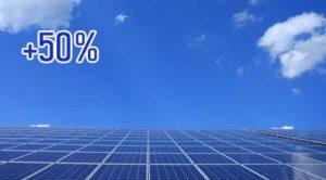 Las energías renovables ya superan el 50% de la electricidad instalada en España