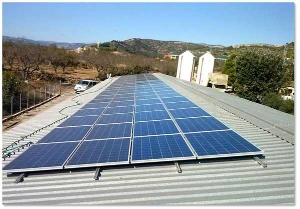 Placas solares xert