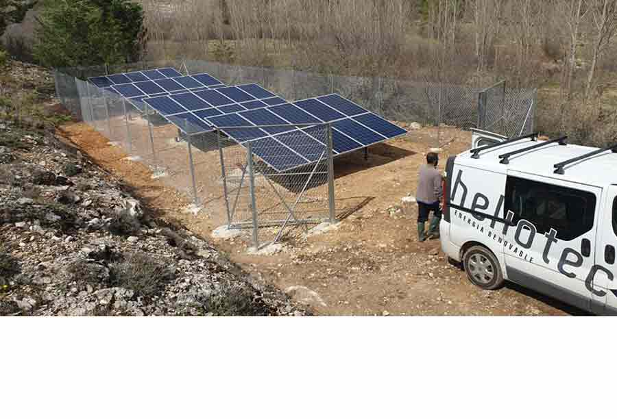 granja paneles solares