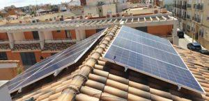 Valencia descontará hasta un 50% del IBI a quien tenga autoconsumo fotovoltaico