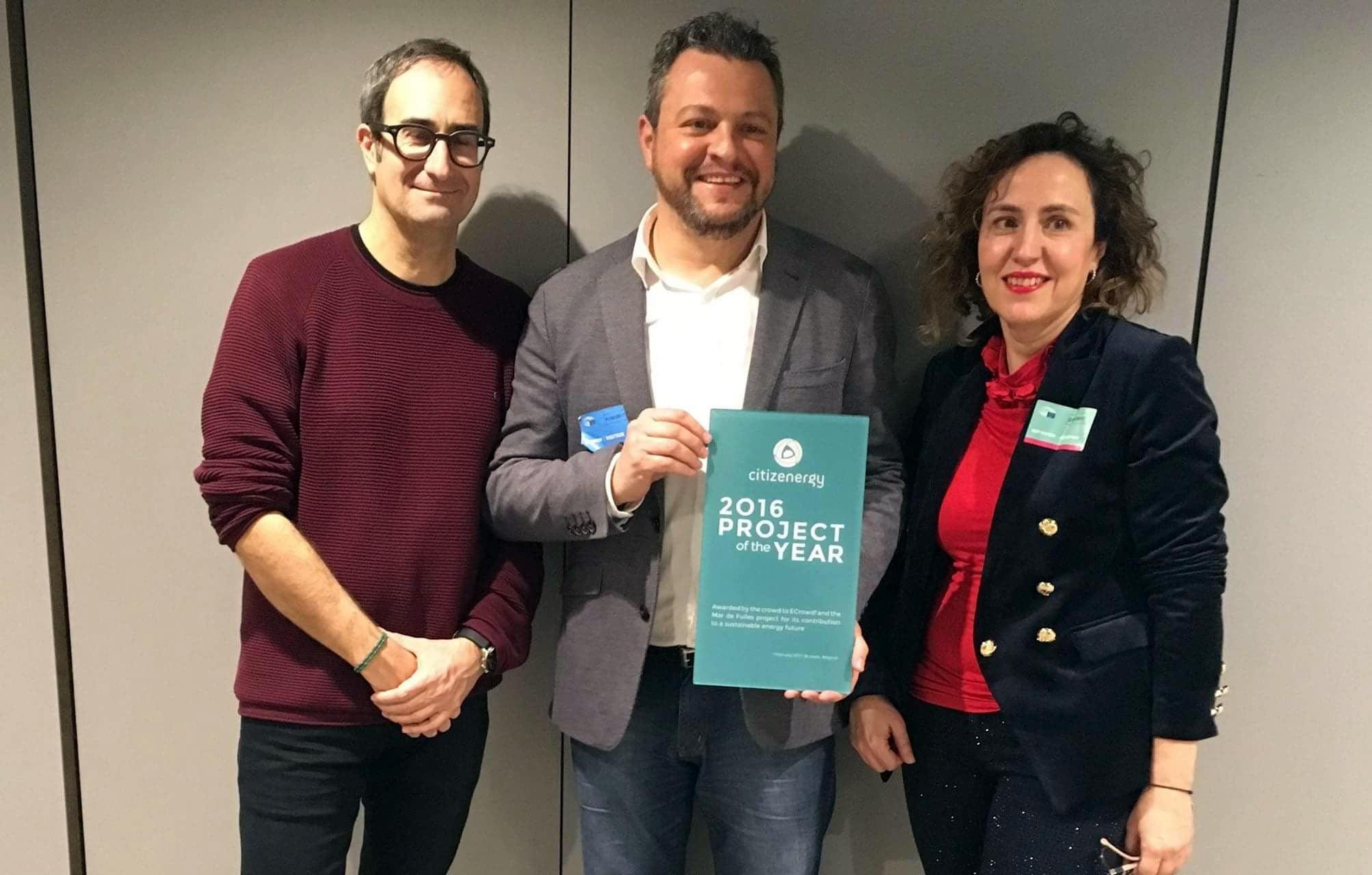 Heliotec celebra el cuarto aniversario del premio Citizenenergy del Parlamento Europeo