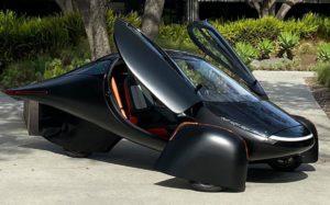 El primer coche eléctrico con carga solar y con autonomía de 65 km
